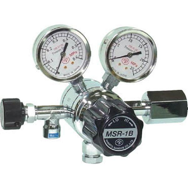 【メーカー在庫あり】 大和製衡(株) ヤマト 分析機用二段圧力調整器 MSR-1B MSR1B12TRC HD