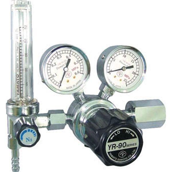 【メーカー在庫あり】 大和製衡(株) ヤマト 汎用小型圧力調整器 YR-90F(流量計付) YR90FARTRC HD