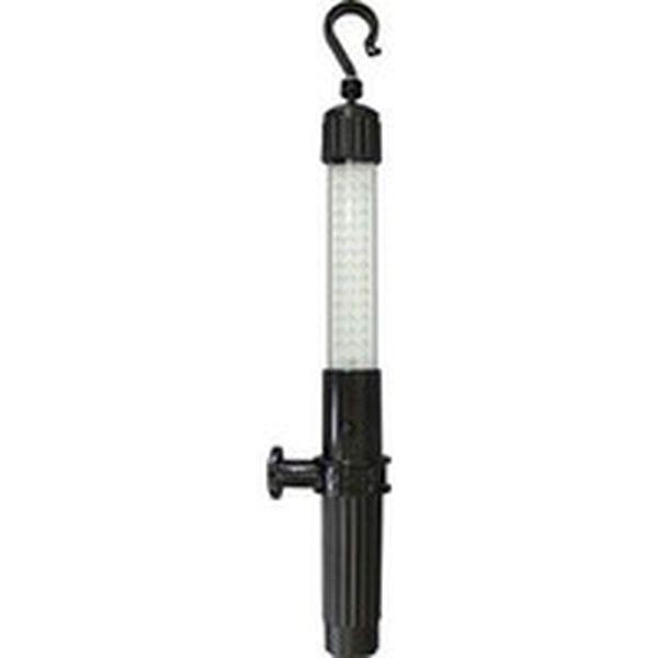 【メーカー在庫あり】 日動工業(株) 日動 充電式LEDハンディーライト 4W 黒 LEH-4W-B HD