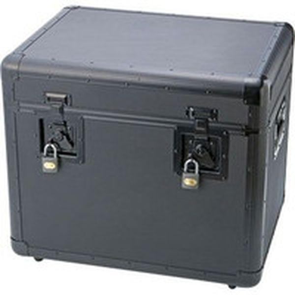 【メーカー在庫あり】 トラスコ中山(株) TRUSCO 万能アルミ保管箱 黒 543X410X457 TAC-540BK HD