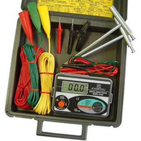 共立電気計器(株) KYORITSU デジタル接地抵抗計(ハードケース) MODEL4105A-H HD