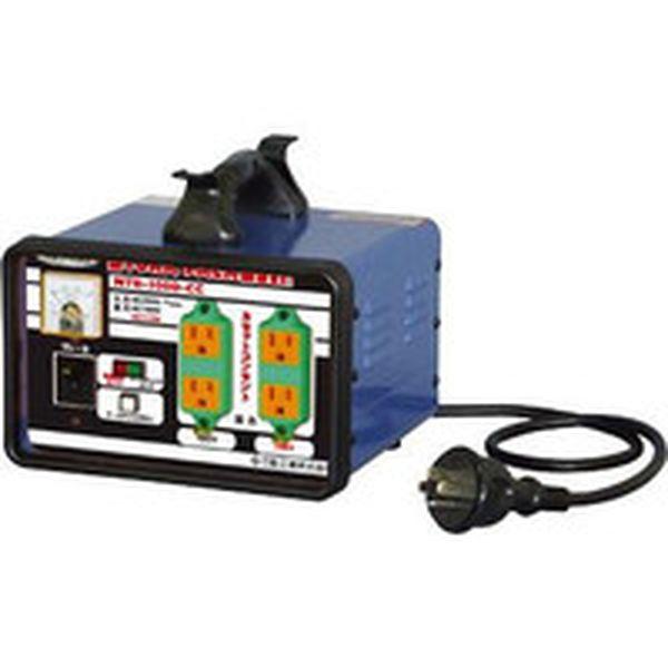 【メーカー在庫あり】 日動工業(株) 日動 変圧器 降圧専用カセットコンセントトラパック 3KVA NTB-300D-CC HD