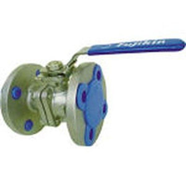 【メーカー在庫あり】 (株)フジキン フジキン ステンレス鋼製1MPaフランジ式2ピースボール弁65A(2 1/2) UBV-21-J10R-J-ALX HD