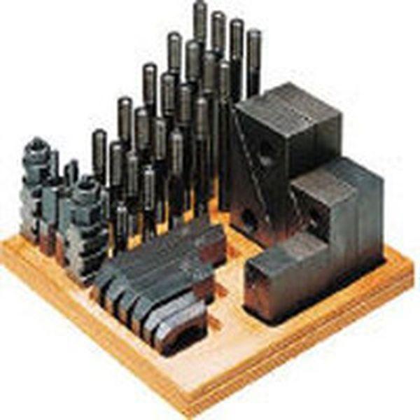 (株)スーパーツール スーパーツール クランピングキット(M12)T溝:16 S1612-CK HD