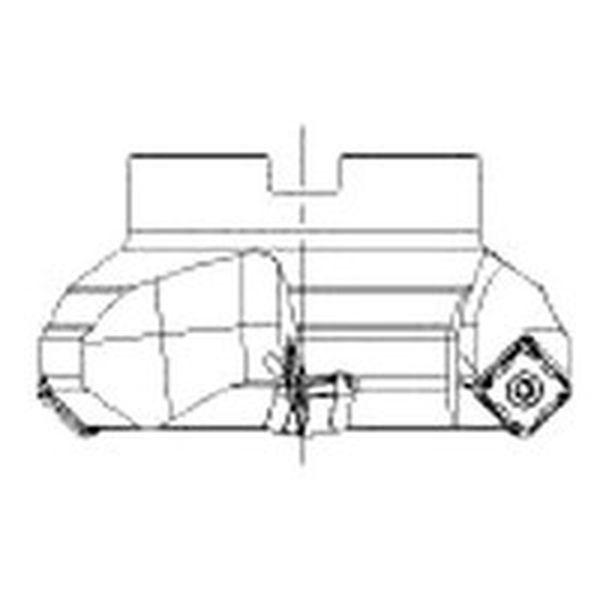 【メーカー在庫あり】 サンドビック(株) サンドビック コロミル345カッター 345-100Q32-13M HD