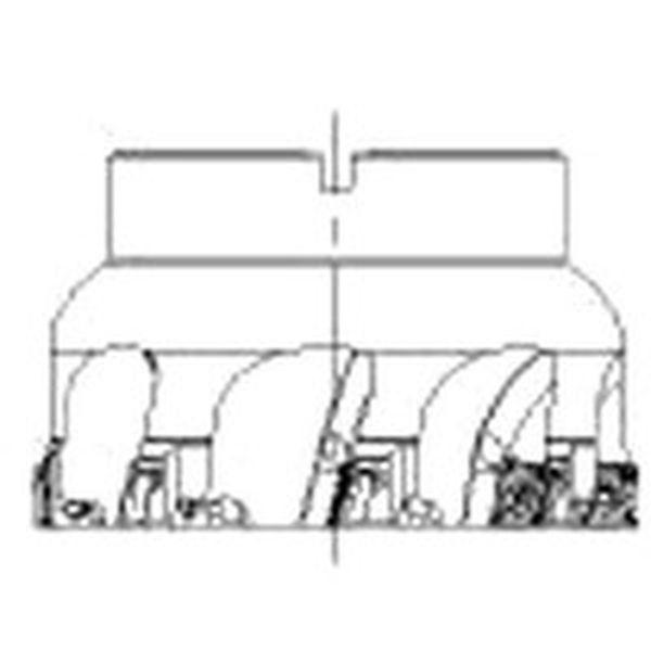 【メーカー在庫あり】 A490080J25.408H サンドビック(株) サンドビック コロミル490カッター A490-080J25.4-08H HD