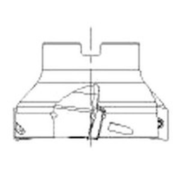 【メーカー在庫あり】 サンドビック(株) サンドビック コロミル390カッター RA390S-100J31-17M HD