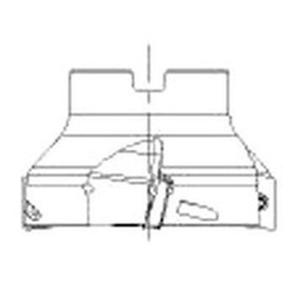 【メーカー在庫あり】 サンドビック(株) サンドビック コロミル390カッター RA390S-125J38-17L HD