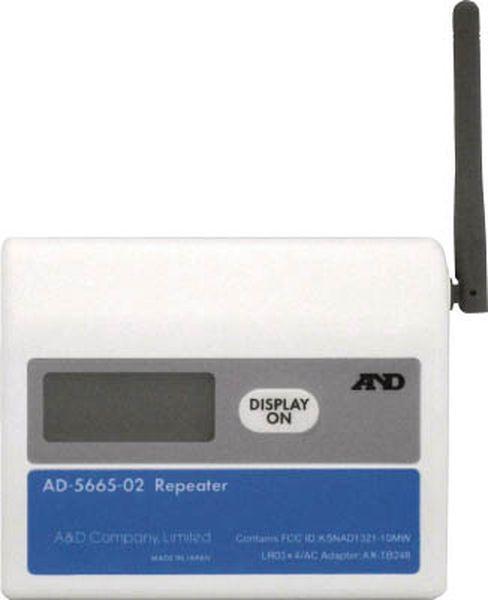 【メーカー在庫あり】 (株)エー・アンド・デイ A&D ワイヤレス温湿度計(中継機) AD5665-02 AD5665-02 HD