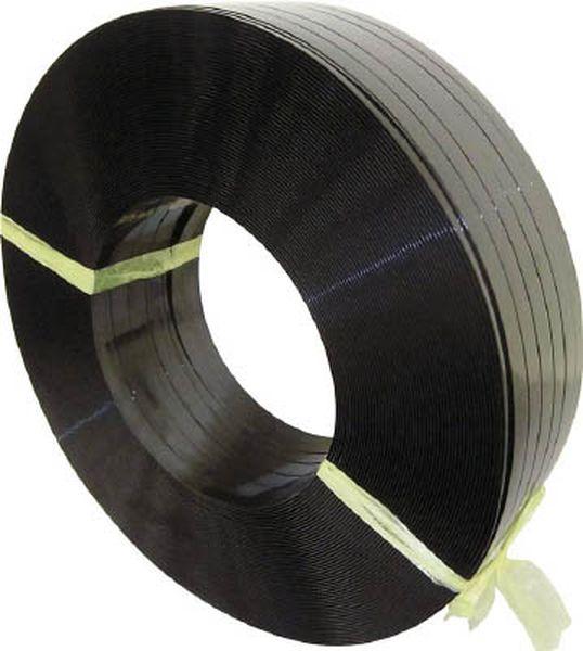 【メーカー在庫あり】 積水樹脂(株) 積水 ポリエステルバンド1604×1400M-黒 PET1604M HD