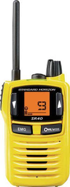 八重洲無線(株) スタンダード 特定小電力トランシーバー SR40Y HD