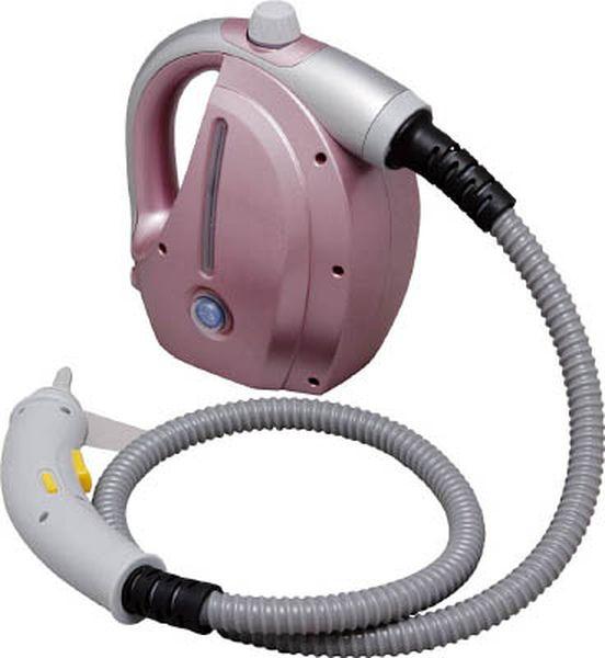 アイリスオーヤマ(株) IRIS スチームクリーナー コンパクトタイプ ピンク/グレー STP-101E-PN HD