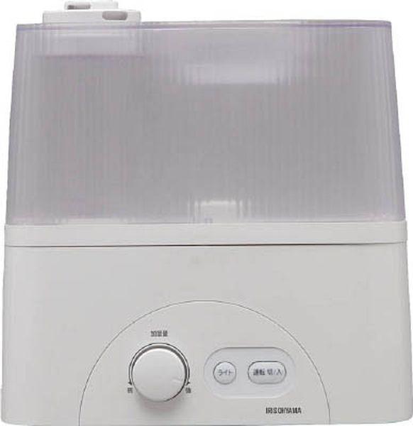 【メーカー在庫あり】 アイリスオーヤマ(株) IRIS 超音波ハイブリッド式加湿器 クリア UHM-450D-C HD