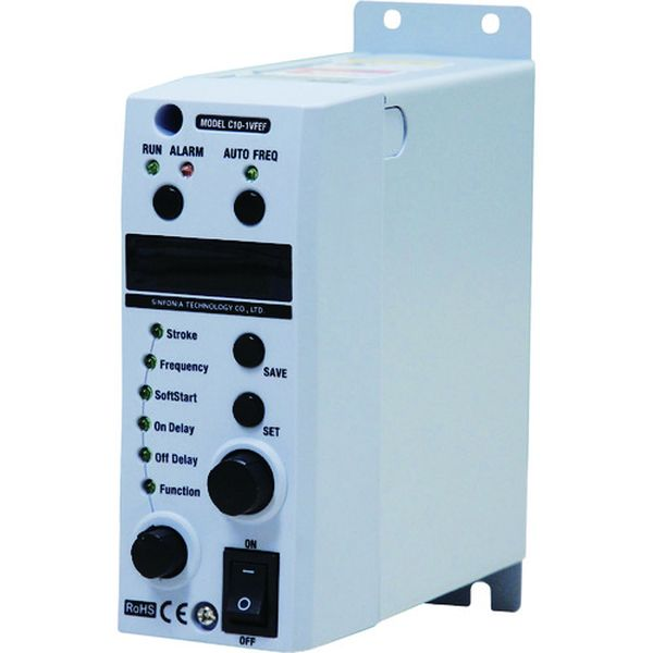 【メーカー在庫あり】 C101VFEF シンフォニアテクノロジー(株) シンフォニア シングルコントローラ C10-1VFEF HD店