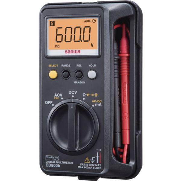 【メーカー在庫あり】 三和電気計器(株) SANWA デジタルマルチメータ CD800B HD店