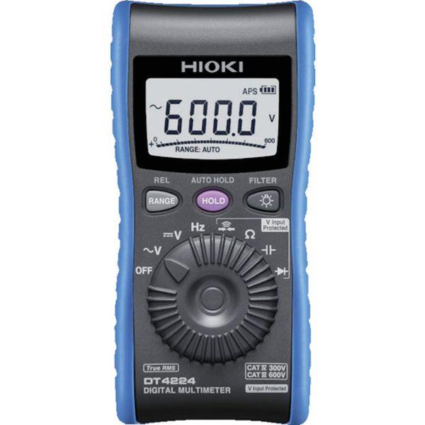 【メーカー在庫あり】 日置電機(株) HIOKI デジタルマルチメータ DT4224 HD店