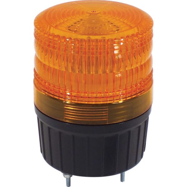【メーカー在庫あり】 NLA90Y100 日動工業(株) 日動 小型LED回転灯 フラッシャーランタン黄 NLA-90Y-100 HD店