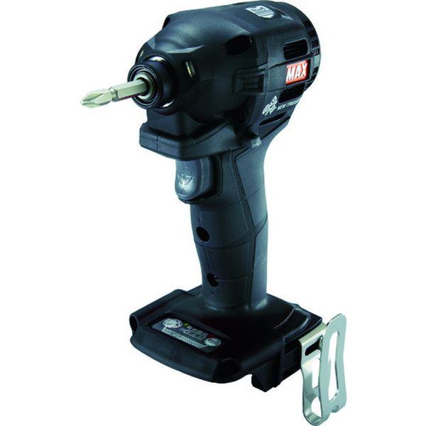 【メーカー在庫あり】 PJID152K マックス(株) MAX 18V充電インパクトドライバ本体のみ(クロ) PJ-ID152K HD店