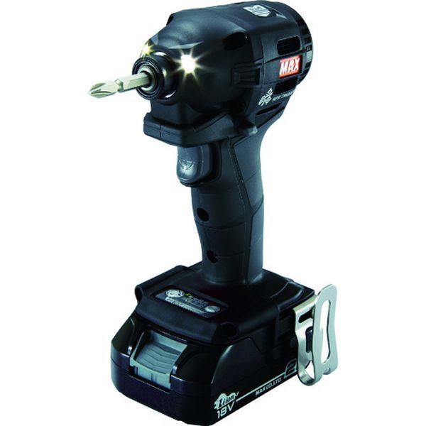 【メーカー在庫あり】 PJID152KB2C1825A マックス(株) MAX 18V充電インパクトドライバセット(クロ)2.5Ah PJ-ID152K-B2C/1825A HD店