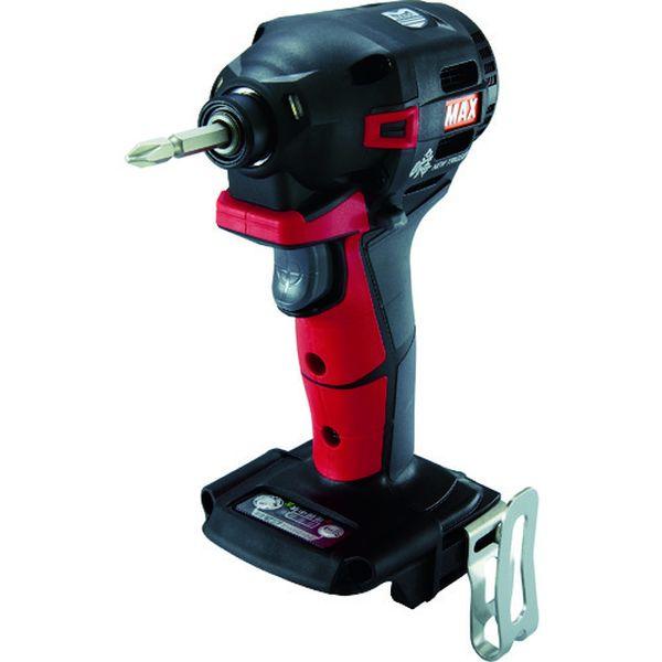 【メーカー在庫あり】 PJID152R マックス(株) MAX 18V充電インパクトドライバ本体のみ(アカ) PJ-ID152R HD店