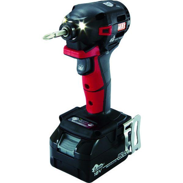 【メーカー在庫あり】 PJID152RB2C1850A マックス(株) MAX 18V充電インパクトドライバセット(アカ)5.0Ah PJ-ID152R-B2C/1850A HD店