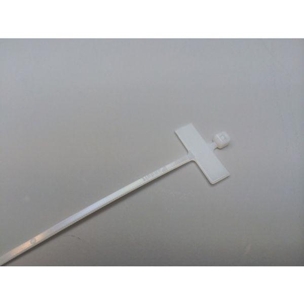 【メーカー在庫あり】 PLM1MM パンドウイットコーポレーション パンドウイット 旗型タイプナイロン結束バンド ナチュラル (1000本入) PLM1M-M HD店