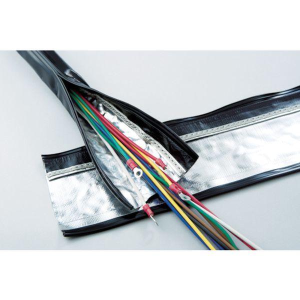 【メーカー在庫あり】 SHNFAR50 日本ジッパーチュービング(株) ZTJ 電磁波シールド チューブ・ジッパータイプ φ50 SHNF-AR-50 HD店