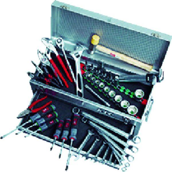 【メーカー在庫あり】 京都機械工具(株) KTC 工具セット(チェストタイプ:一般機械整備向) SK4520MXBK HD店