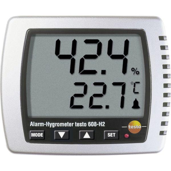 【メーカー在庫あり】 TESTO608H2 (株)テストー テストー 卓上式温湿度計(LEDアラーム付) TESTO608-H2 HD店