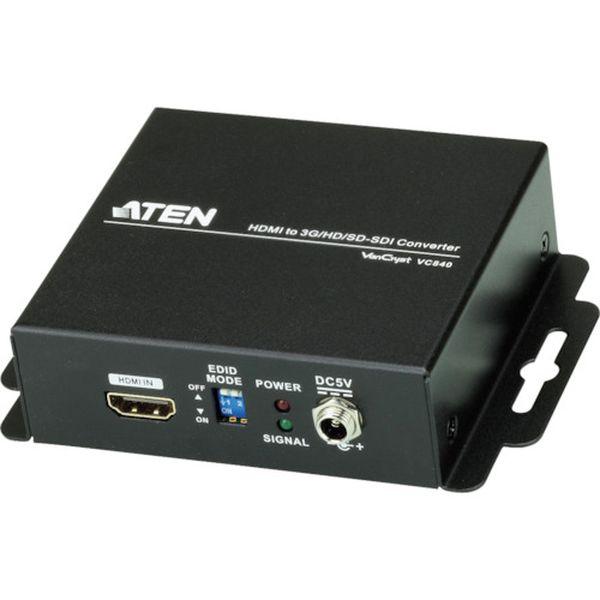 【メーカー在庫あり】 ATENジャパン(株) ATEN ビデオ変換器 HDMI to 3G/HD/SD-SDIタイプ VC840 HD店