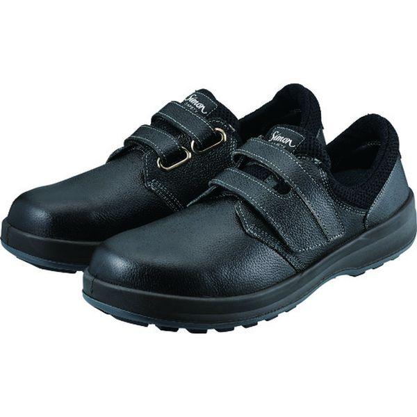 【メーカー在庫あり】 WS18B23.5 (株)シモン シモン 安全靴 短靴 WS18黒 23.5cm WS18B-23-5 HD店