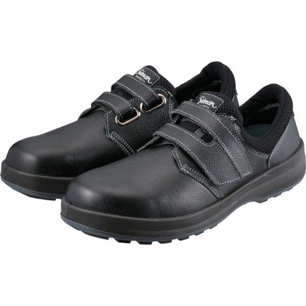 【メーカー在庫あり】 WS18B24.0 (株)シモン シモン 安全靴 短靴 WS18黒 24.0cm WS18B-24-0 HD店
