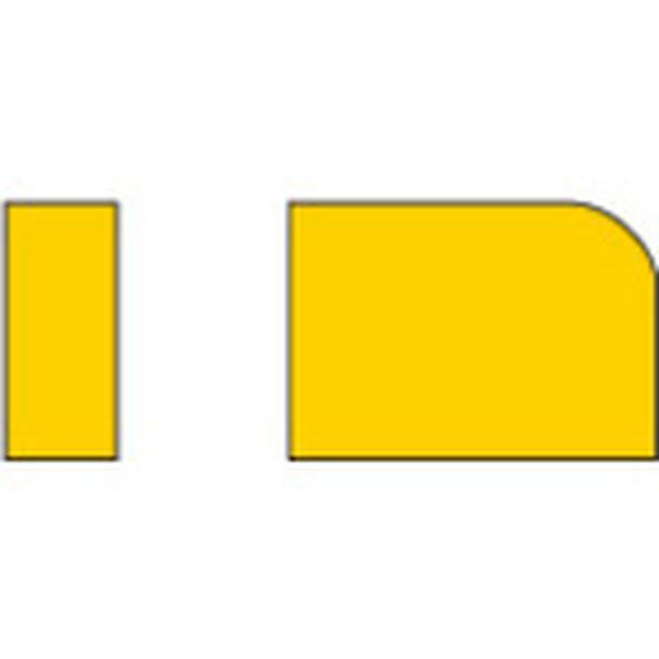 【メーカー在庫あり】 025 三菱マテリアル(株) 三菱 ろう付け工具 バイト用チップ 02形(41・42形用) 超硬 10個入り 02-5 HD