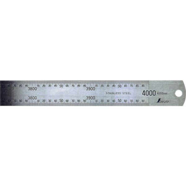 【メーカー在庫あり】 シンワ測定(株) シンワ 直尺 ステン4000mm 14087 HD