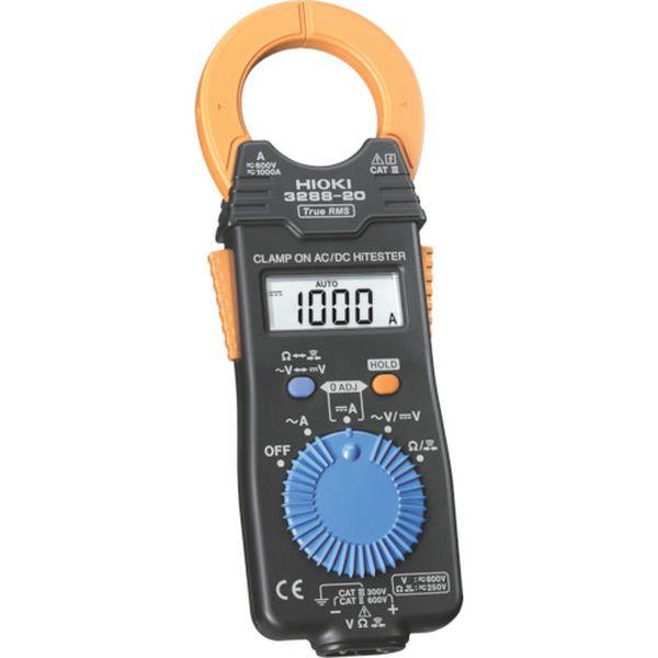 【メーカー在庫あり】 日置電機(株) HIOKI クランプオンAC/DCハイテスタ電流計 3288-20 HD