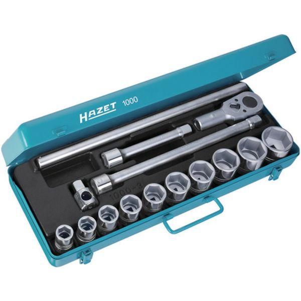 【メーカー在庫あり】 HAZET社 HAZET ソケットレンチセット(6角タイプ・差込角19.0mm) 1000 HD