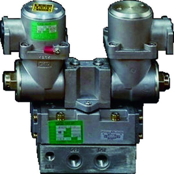 【メーカー在庫あり】 CKD(株) CKD パイロット式 防爆形5ポート弁 4Fシリーズ(シングルソレノイド) 4F510E-15-TP-AC200V HD