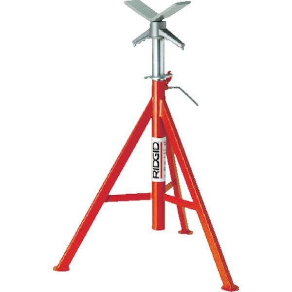 【メーカー在庫あり】 Ridge Tool Compan RIDGE VJ-98 Vヘッドパイプスタンド 56657 HD