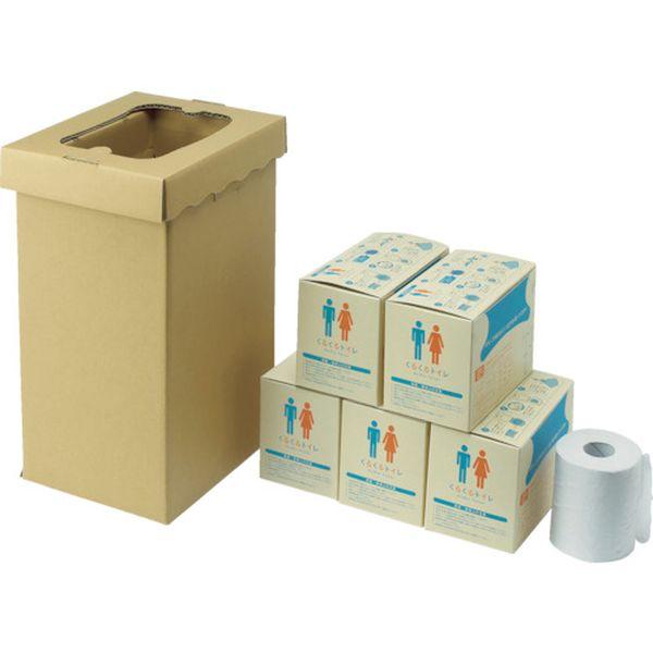 【メーカー在庫あり】 (株)三和製作所 sanwa 非常用トイレ袋 くるくるトイレ100回分 400-785 HD