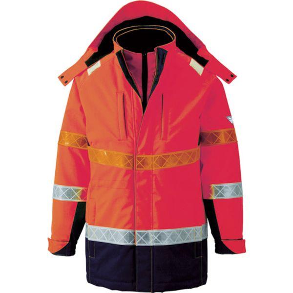 【メーカー在庫あり】 (株)ジーベック ジーベック 801 高視認防水防寒コート 3L オレンジ 801-82-3L HD