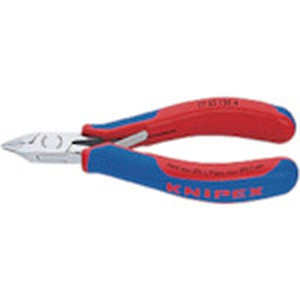 KNIPEX社 KNIPEX 超硬刃エレクトロニクスニッパー 7732-120H HD