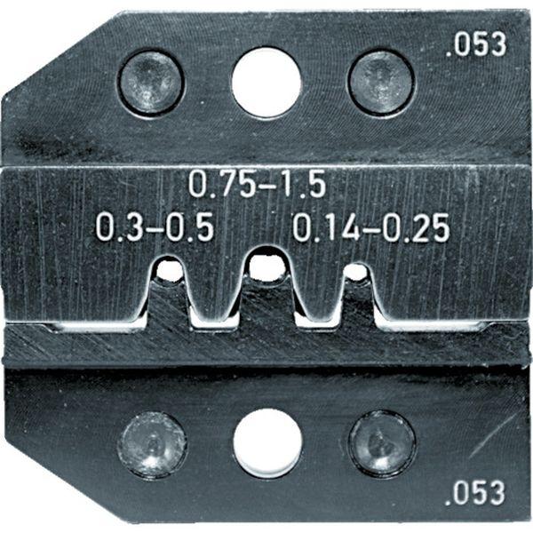 【メーカー在庫あり】 RENNSTEIG社 RENNSTEIG 圧着ダイス 624-053 ピンコンタクト0.14-1.5 624-053-3-0 HD