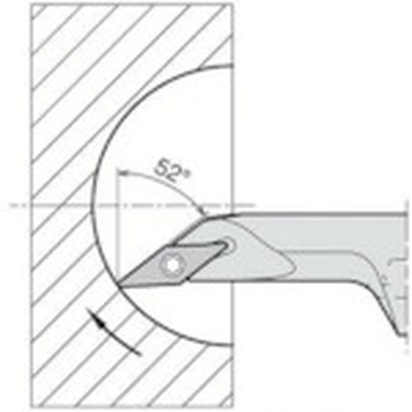 【メーカー在庫あり】 A12MSVJCL0816AE 京セラ(株) 京セラ 内径加工用ホルダ A12M-SVJCL08-16AE HD店