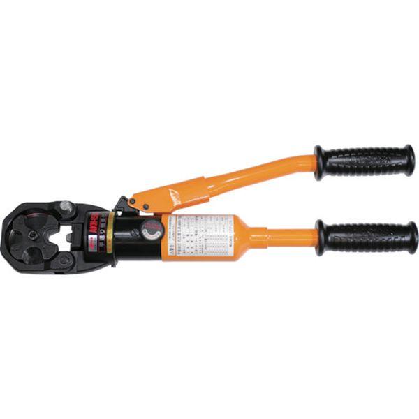 【メーカー在庫あり】 (株)ロブテックス エビ 手動油圧式圧着工具 使用範囲14~150 AKH150S HD