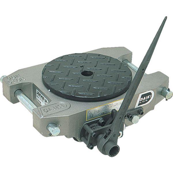【メーカー在庫あり】 (株)ダイキ ダイキ スピードローラーアルミ自走式ウレタン車輪5ton AL-DUW-5R HD