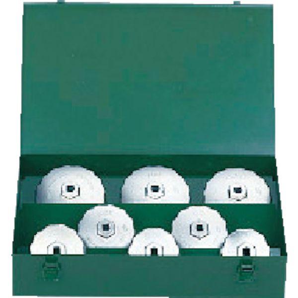 【メーカー在庫あり】 京都機械工具(株) KTC カップ型オイルフィルタレンチセット[8コ組] AVSA08A HD