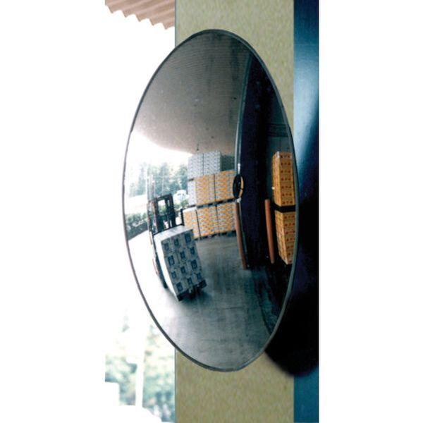 【メーカー在庫あり】 コミー(株) コミー フォーク出口ミラー(柱用)350×550 B55K HD店