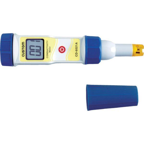 【メーカー在庫あり】 (株)カスタム カスタム 防水型導電率計 CD-6021A HD