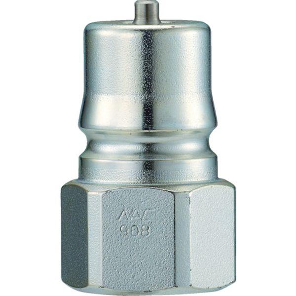 【メーカー在庫あり】 長堀工業(株) ナック クイックカップリング HP型 特殊鋼製 高圧タイプ オネジ取付用 CHP10P HD