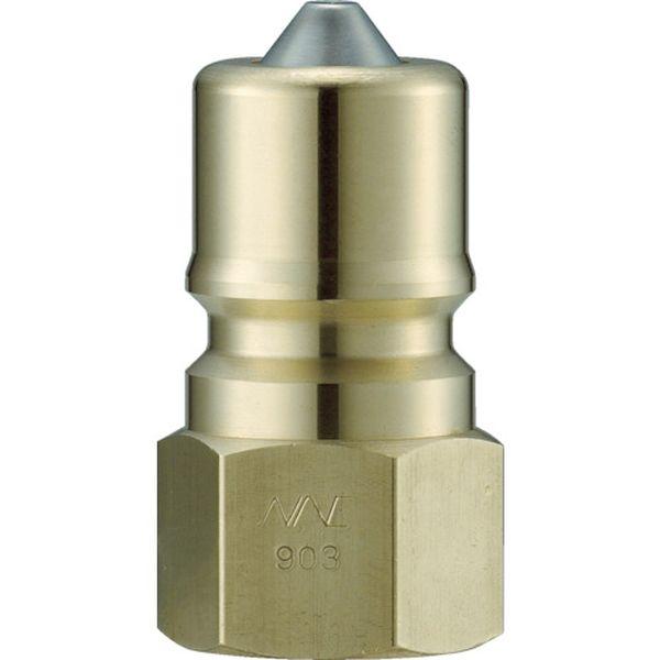 【メーカー在庫あり】 長堀工業(株) ナック クイックカップリング S・P型 真鍮製 オネジ取付用 CSP16P2 HD